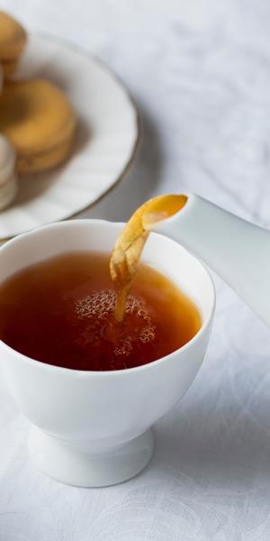 Earl Grey Tea Pouring
