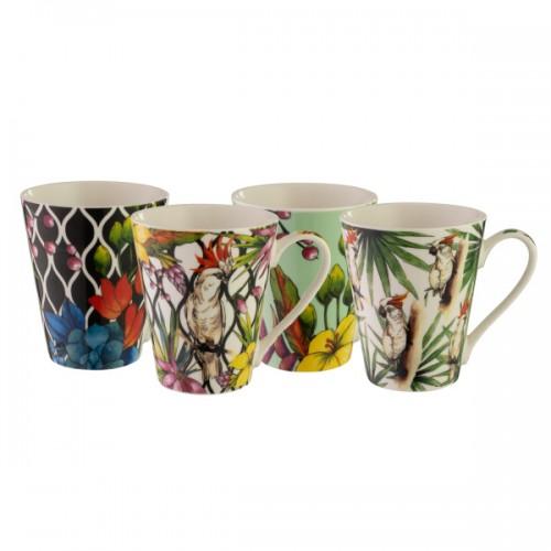 Cockatoo 400ml Mug Set