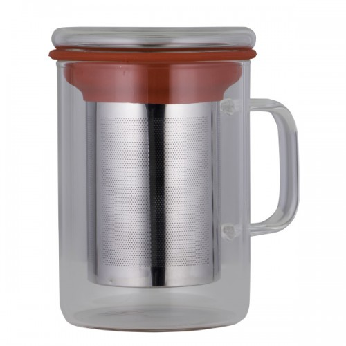 Glass Tea Mug & Infuser