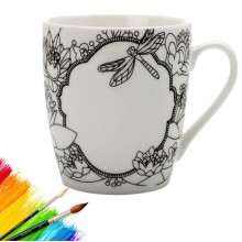 Paint-Your-Own Mindfulness Mug