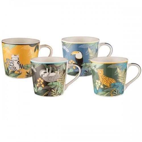Safari 400ml Mug Set