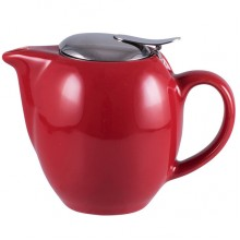 Hot Red Bistro Teapot