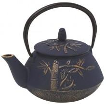 Cast Iron Bamboo Teapot