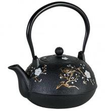 Cast Iron Cherry Blossom Teapot