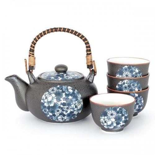Watercolour Japanese Tea Set